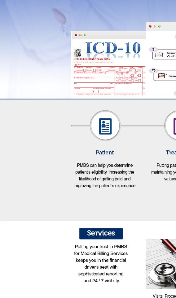 Proficient Medical Billing Services Homepage